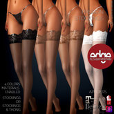 Wild Orchid Edge: Passion Stockings 4 Color Pack with materials enabled