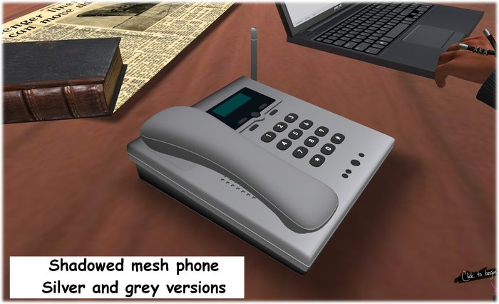 telephone - office phone - desk phone - mesh