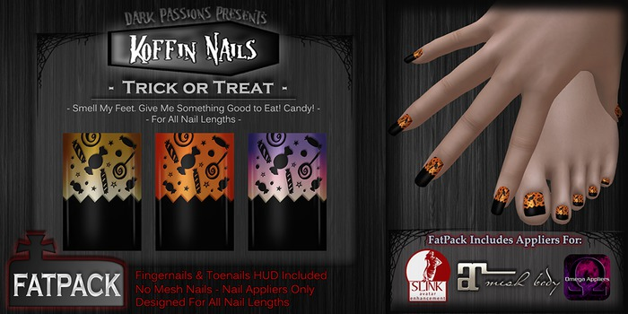 DP - Koffin Nails - FatPack - Trick or Treat