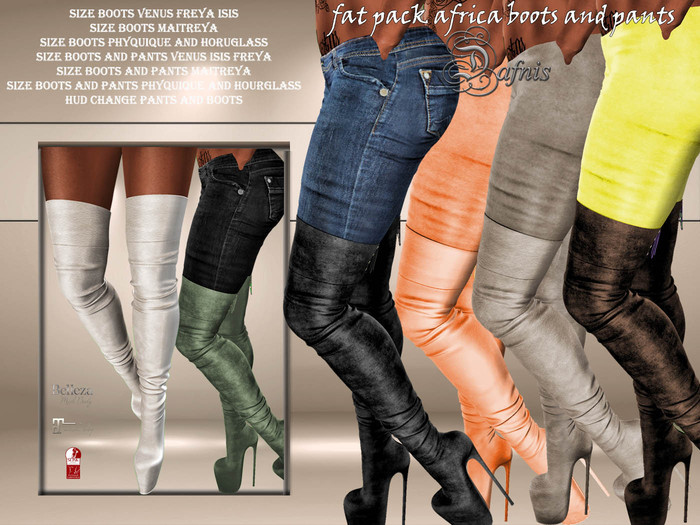 *dafnis fat pack africa boots and pants promo