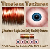9 Seamless or S-Alpha Good Golly Miss Dolly Timeless Textures