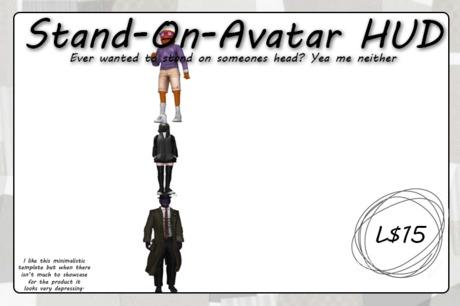 Stand On Avatar HUD