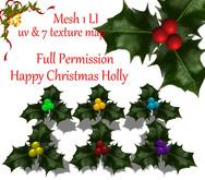 [ FULL PERM ] Merry Christmas HOLLY