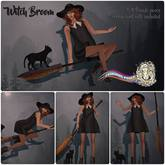 = Fashiowl Poses = Witch Broom // WEAR