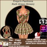 Freya's Fashions Ruth (Green)