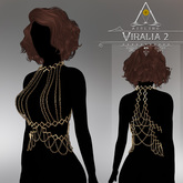 .aisling. Viralia 2 Chestlace - [ Maitreya - Slink ]