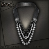 Meva Vintage Necklace Black Box