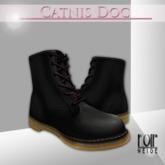 >NOIR NEIGE< Catnis Doc - Black