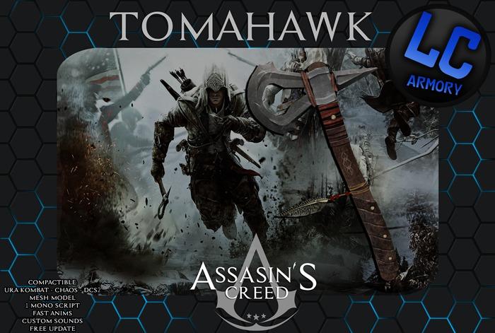 Second Life Marketplace Kit Tomahawk Assassin S Creed V1 1