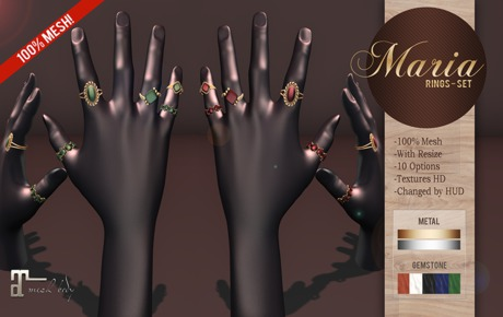 Daju Boutique. Rings Maria (Wear me)