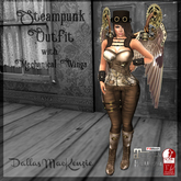 .::DM::. Steampunk Outfit - Brown