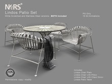 N4RS Lindos Patio Set - PG