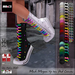 MOoH! Megan tip toe high tops Hud Canvas (Add)
