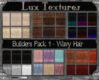 AB2000 - Builders Hair Pack Wavy - Pack 1