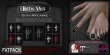 DP - Koffin Nails - FatPack - Goth Macabre