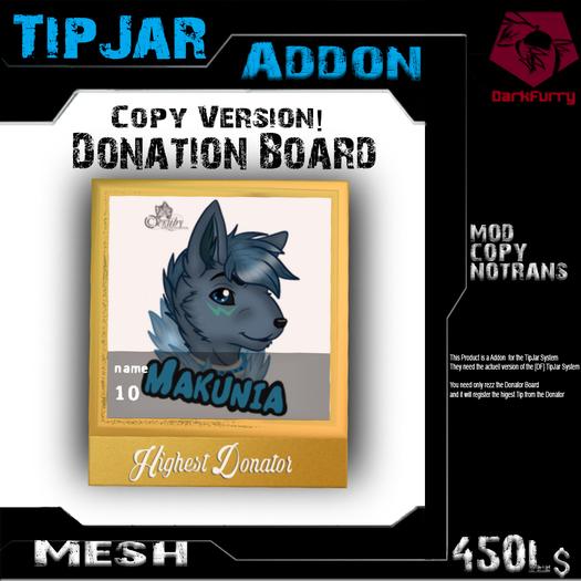 [DF] Donator Board (Copy) TipJarAddon