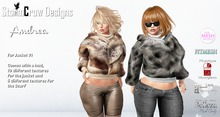Andrea Fur Jacket V1 with Hud