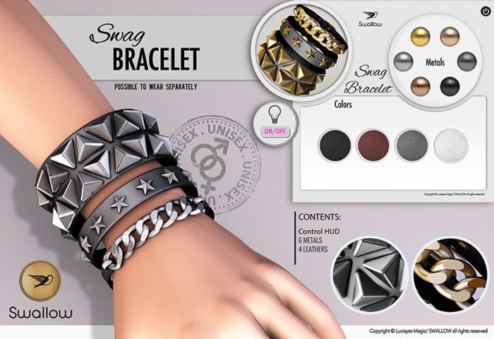 ^^Swallow^^ Swag Bracelet (Unisex)