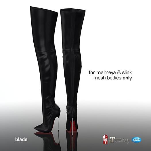 [Gos] Boutique - Blade - Black
