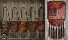 Petite Mort- Gypsy Bag RED/PINK
