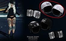 Roller Derby - White Helmet