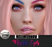 .odd.polly. Reptile Eyes