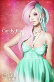 .Olive. the Candy Floss Hair - FATPACK [Wear Me]