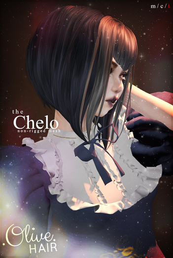 .Olive. the Chelo Hair - FATPACK