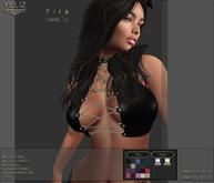 .:-->> YELIZ <<--:.  *YIRA* chained Up Top - MEGA-HUD -
