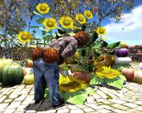 Aphrodite Harvest decoration: The Pumpkin Man - Fall decor special