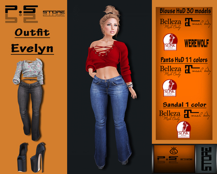 ..:: P.S STORE ::.. OUTFIT EVELYN