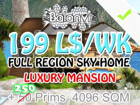 affordable sky home/box 199 L$ WK - 4096 SQM A2