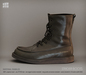 [Deadwool] Strider boots - army green