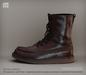 [Deadwool] Strider boots - burgundy