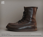 [Deadwool] Strider boots - chocolate