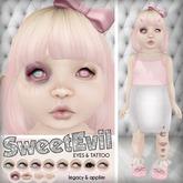 *TD* Eyes & Tattoo - Sweet Evil Set