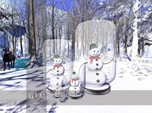 +gemposes+ - snowglobe deco-set [jar] -
