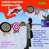 Target Practice Paintball Fun (crate)