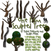 FUD Wonderland Tree Sculpt Maps & Texture Pack