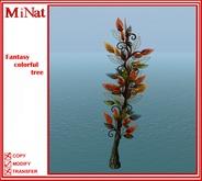 MiNat Fantasy colorful tree