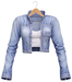 Blueberry - Radiance - Denim Jackets - Light Blue