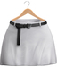 Blueberry - Blaire Belted Skirts - Maitreya Lara, Belleza (All), Slink Physique Hourglass (Mesh) - White