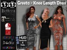 :: D~vine Style :: Greeta - Knee Length Dress