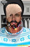 boyberry Christmas Beard w Lights