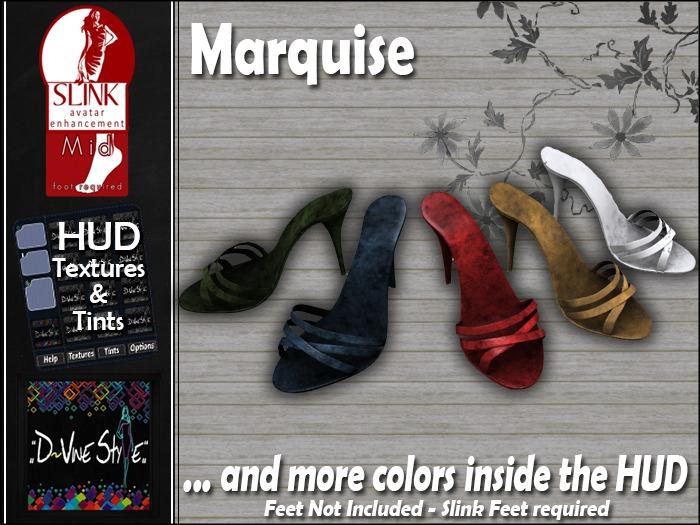 D&D - Marquise Sandals - Slink Mid