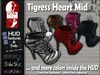 :: D~vine Style ::  Tigress Heart Boots - Slink Mid