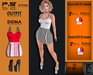 ..:: P.S STORE ::.. OUTFIT DONA + HUD 25 MODELS