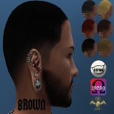 .::CDC Hair Base Catwa / Omega Dark Brown 12 **