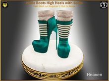*BS* Ankle Boots Heaven with Socks