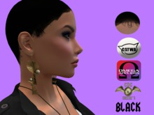 .::CDC Hair Base Catwa/Omega Black F13**